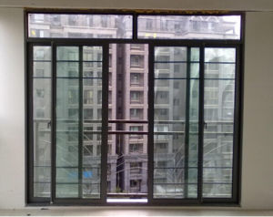 Energy Saving Double PVC / UPVC Sliding Glass Window