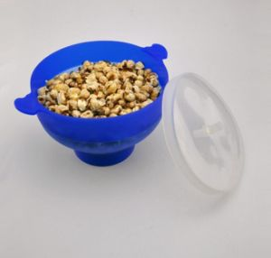 Food Safe Microwave Silicone Popcorn Popper pictures & photos