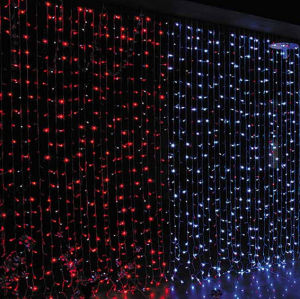 Christmas Decoration LED Curtain Light with Different Colors pictures & photos