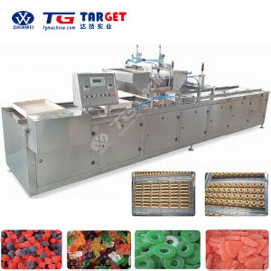 Semi-Automatic Jelly Gummy Candy Starch Moulding Line pictures & photos