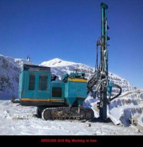 Boom DTH Drill Rig/Surface DTH Drill for Blasting Holes pictures & photos