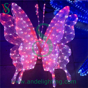 Beautiful LED Butterfly 3D Motif Light pictures & photos