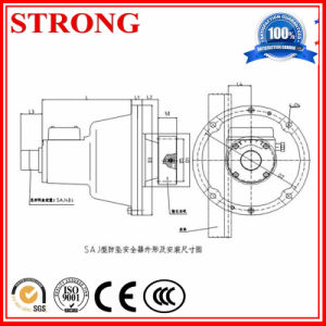 Safety Device for Rack and Pinion Elevator for Lifting Materials pictures & photos