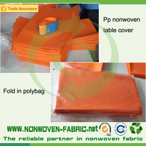 Spunbond Nonwoven Polypropylene Fabric Tablecloth pictures & photos