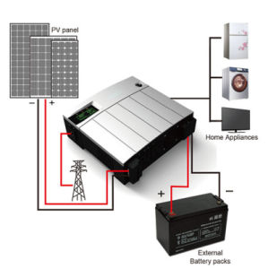 High Frequency Solar Inverter, Modified Sine Wave Wsppv1100 pictures & photos