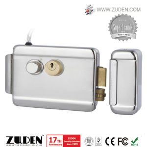 Rim Lock with Double Cylinder, Nickel Plating pictures & photos