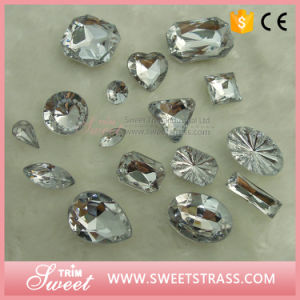 High Quality Sew on Resin with Hole Plastic Stone pictures & photos