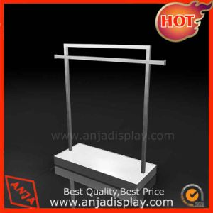 Metal Clothing Display Stand Clothes Display Rack pictures & photos
