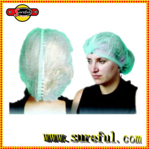 PP Non Woven Disposable Mob Cap/Clip Cap /Nurse Cap pictures & photos