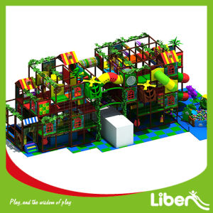 Jungle Theme Indoor Playground Set with Trampoline pictures & photos