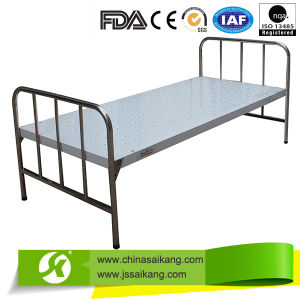 Simple Flat Hospital Bed (ISO/CE/FDA) pictures & photos