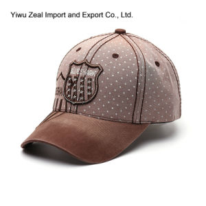 Snow Washed Promotional Fashion Sport Baseball Cap