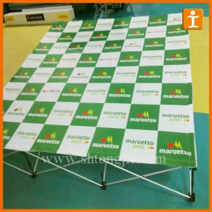 Straight Fabric Pop up Banner (TJ- 17) pictures & photos