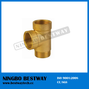 Female and Male Thread with Three Way Brass Fitting (BW-653) pictures & photos