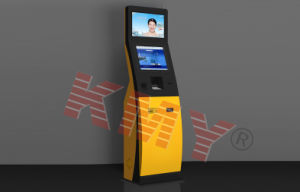 Dual Monitors Touch Screen Advertising Kiosk pictures & photos