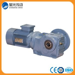 Right Angle Helical Bevel Gear Reducer pictures & photos
