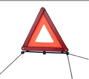 Collapsible Reflective Triangle Roadway Sign with E-MARK pictures & photos