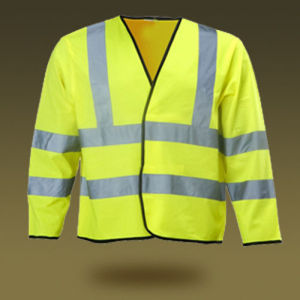 OEM High Quality Long Sleeve Reflective Safety Vest pictures & photos