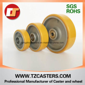 Swivel Caster with Brake PU Wheel with Aluminum Center6*2 pictures & photos