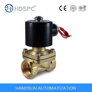2W Series AC230V 2 Way Direct Acting Brass Mini Water Gas Solenoid Valve pictures & photos
