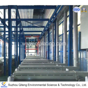 Aluminium Oxidation Plating Line for Auto Parts