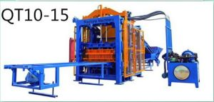 Fully Automatic Hydraulic Hollow Concrete Block Brick Paver Making Machine pictures & photos