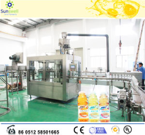 Monoblock 3 in 1 Juice Beverage Filling Machine/Making Equipment pictures & photos