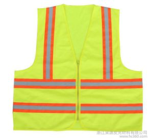 High Visibility Reflective Safety Vest with One Pocket pictures & photos