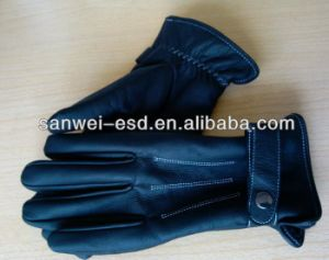 Conductive PU Man-Made Leather (3W-13001) pictures & photos