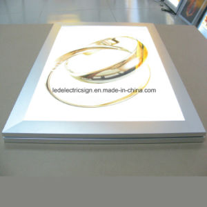 Gold Jewelry Poster Advertising LED Light Box pictures & photos