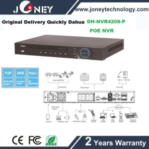 8/16 Channel Dahua Poe NVR NVR Dh-NVR4208-P pictures & photos