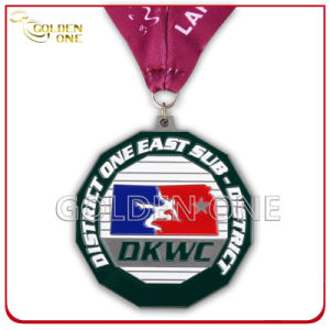 Inexpensive Custom Metal Running Medal Trophy pictures & photos