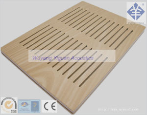 Fireproof Wooden Acoustic Paneling for Conference Room (UPFRVF15mm) pictures & photos