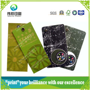 Customized Printing Logo Eco-Friendly Hang Tag (for Garment / Shoes Manufactory) pictures & photos
