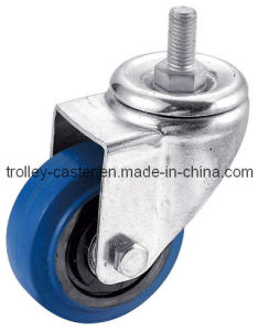 Swivel Threaded Stem Rubber Caster pictures & photos
