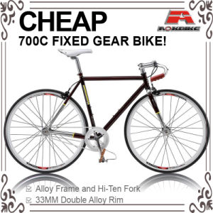 Cheap Hi-Ten 700c Track Bike with Front and Rear Caliper (ADS-7084S) pictures & photos