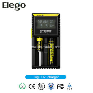 Nitecore D2 Digicharger LCD Display Battery Charger pictures & photos