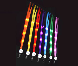 Custom High Quality Eco-Friendly LED Lanyard pictures & photos