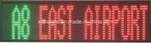 Bus Multicolour LED Moving Sign Display pictures & photos