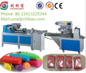 High Quality Modeling Clay Extruder Packing Machine for Kids