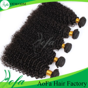 Aofa Factory Wholesale No Shedding Tangle Human Virgin Brazilian Hair pictures & photos