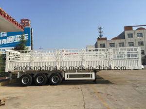 Reduced Price Good Quality Truck Semi Trailer Stake Type pictures & photos