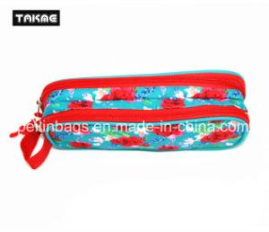 Fashion Printing Double-Layer Pencil Bag Pencil Case pictures & photos