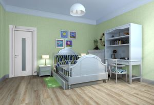 Wood Effect Vinyl Click Flooring Decoration Material pictures & photos