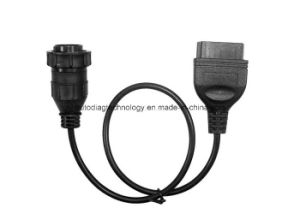 14pin to 16pin OBD2 Adaptor Cable for Mercedes Benz Sprinter Volkswagen VW Lt Van pictures & photos