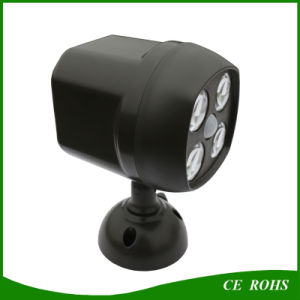 Adjustable Angle Sensor Solar LED Spotlight Light Bulb Outdoor pictures & photos