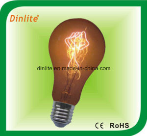 A-Line 60W 8anchors golden incandescent bulb pictures & photos