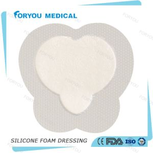 Moderated to High Exuding Wound Sacrum Adhesive Foam Dressings pictures & photos