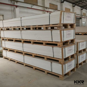 Wholesale Pure White Corian Acrylic Solid Surface Sheet pictures & photos