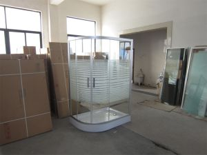 Offset Quadrant Shower Enclsoure with 6mm Tempered Glass pictures & photos
